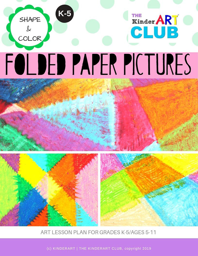 Folded Paper Pictures