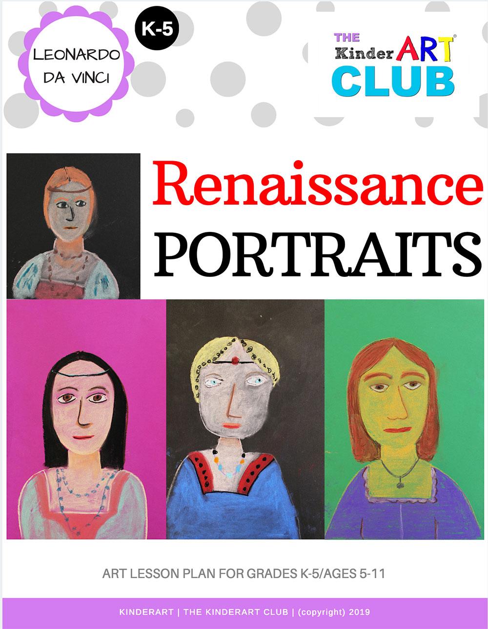 LESSON Leonardo Da Vinci Renaissance Portraits The