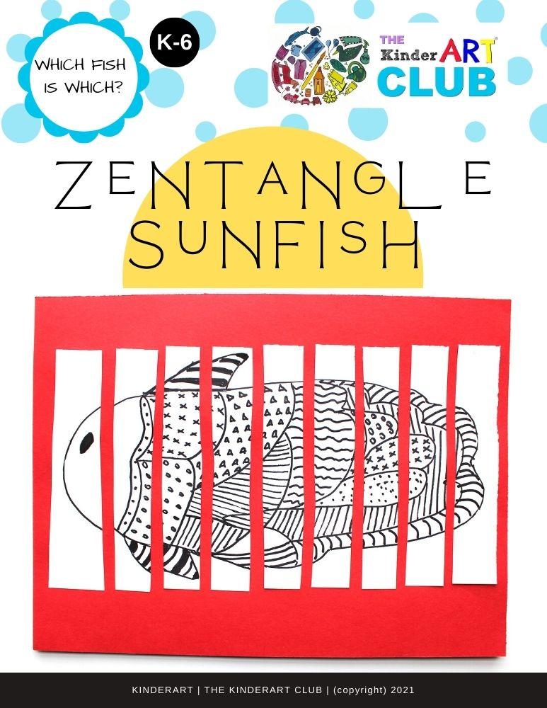 zentangle_sunfish